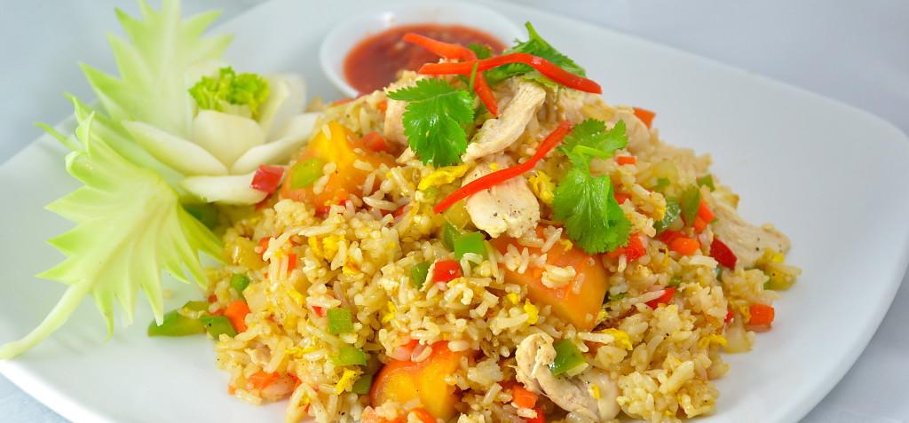 Khao Pad New West (Thai New West Stir Fried Rice)