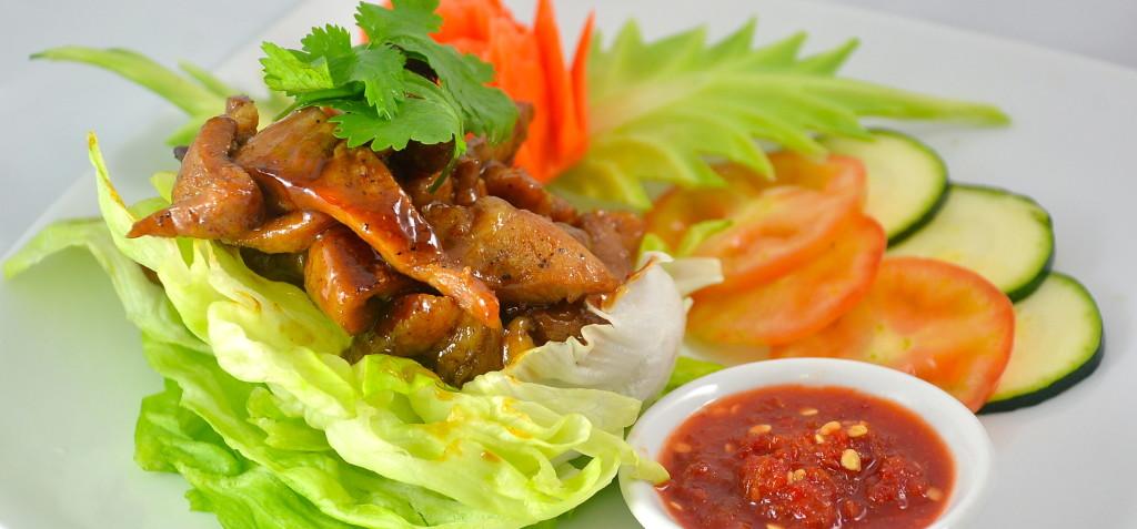Moo Nam Pung (Honey Grilled Pork)