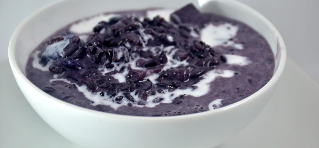 Khao Niew Pieke (Black Sticky Rice Pudding)