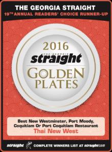 Golden Plates 2016 Winners